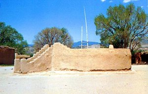 Kiva circular en Nuevo Mexico, construida por los descendientes  de los antiguos Hopi