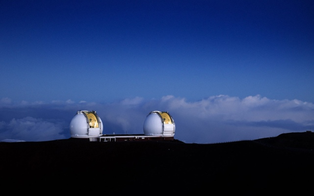 Keck-telescopes