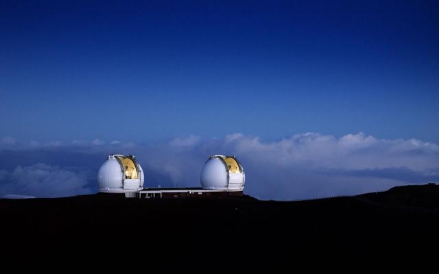 Keck-telescopes
