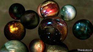 El multiverso, dice la teoría, incluye una miríada de universos burbuja.