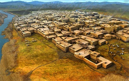 The-honeycomb-city-of-Catalhoyuk