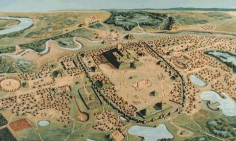 The-Native-America-city-of-Cahokia