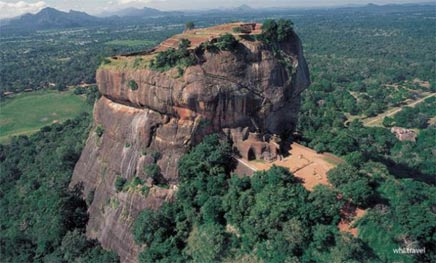 The-rock-city-of-Sigiriya