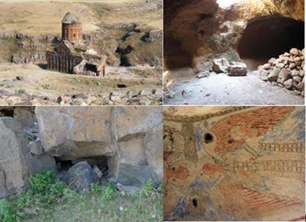 The-underground-city-of-Ani