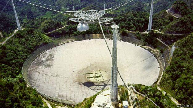Han pasado 40 años desde que el radiotelescopio Arecibo en Puerto Rico envió un mensaje al espacio.