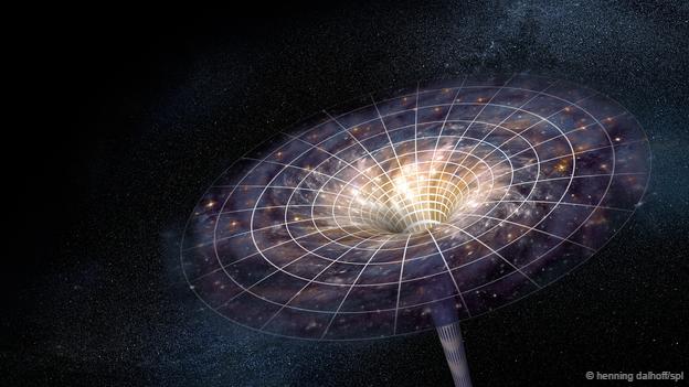 Nadie sabe exactamente qué hay dentro de un agujero negro.
