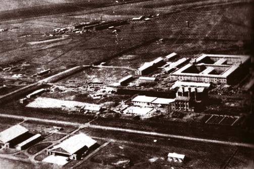 Foto: Complejo del Escuadrón 731. Wikimedia Commons