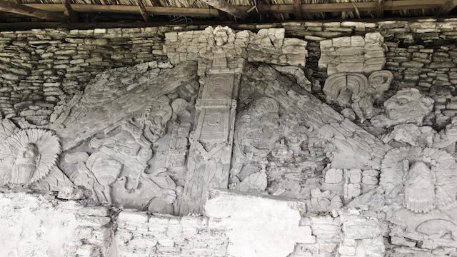 Centro del Mural de las 4 Eras.