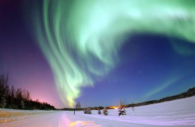 Aurora boreal. Wikimedia Commons