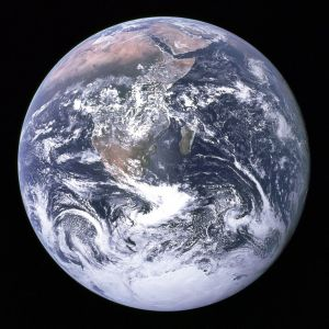 The Blue Marble. Wikimedia Commons